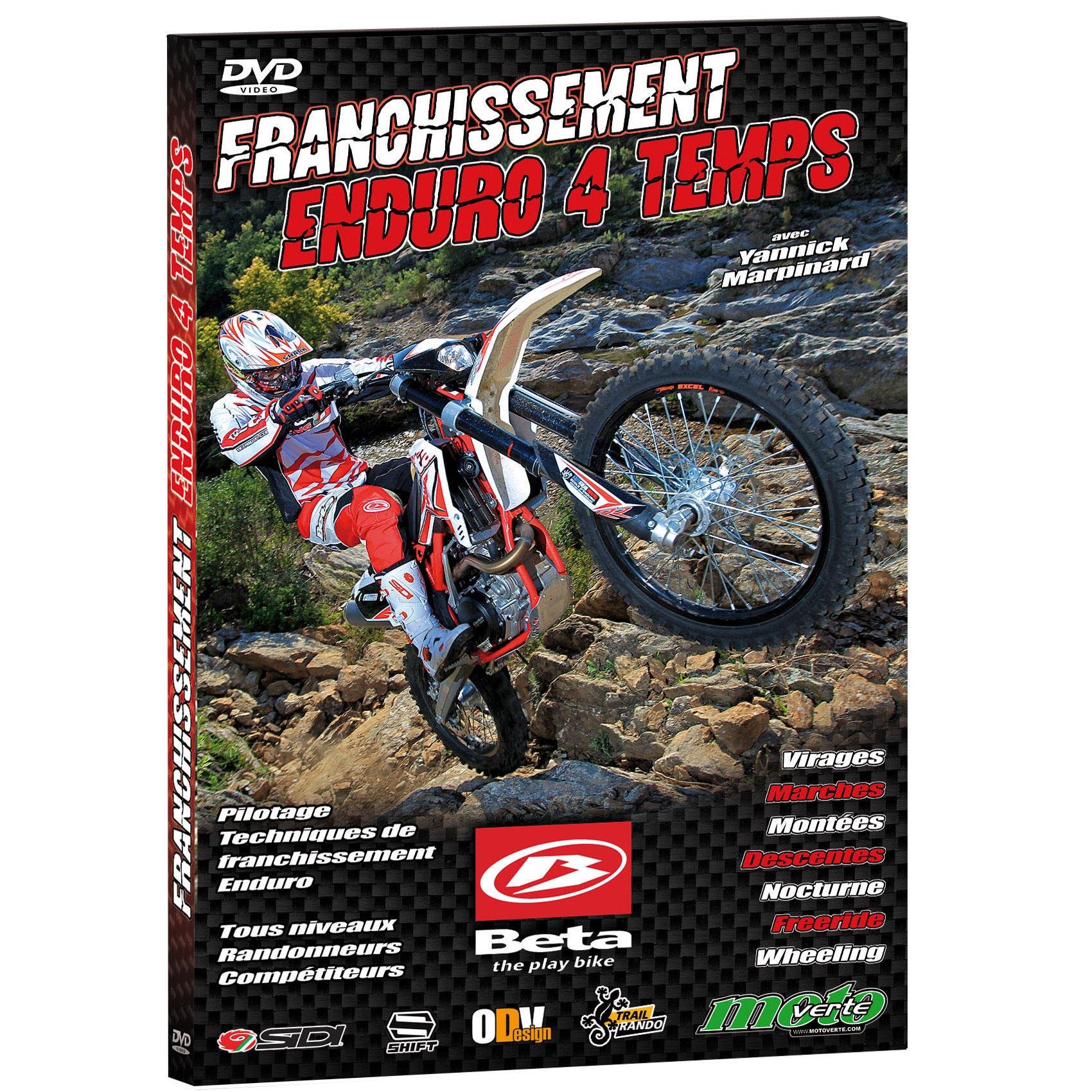 DVD Franchissements Enduro