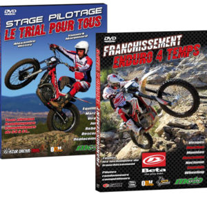 2 DVD Enduro et Trial