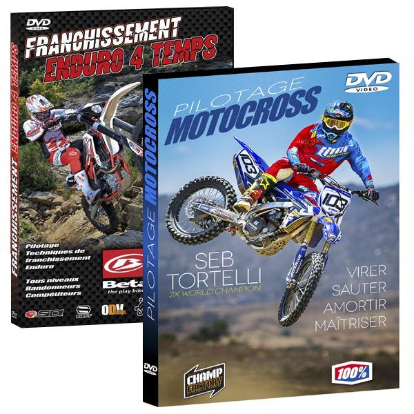2 Dvd Enduro et Motocross Seb Tortelli